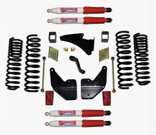2014 Dodge 2500 Skyjacker 4 Inch Suspension Lift Kit W/nitro Shocks