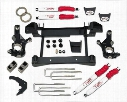 2010 CHEVROLET SILVERADO 2500 HD Tuff Country 4 Inch Lift Kit w/Shocks