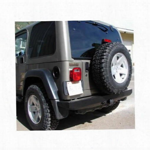 1995 Jeep Wrangler (yj) Mountain Off Road Enterprises Rockproof Rear Bumper, Black Powder Coat