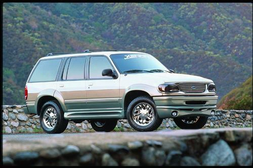 1998 Ford Explorer Xenon Fender Flare Set