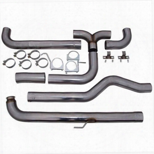 2001 Chevrolet Silverado 3500 Mbrp Smokers Xp Series Down Pipe Back Stack Exhaust System
