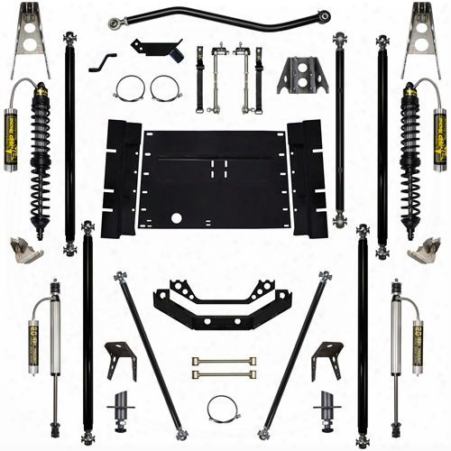 2003 Jeep Wrangler (tj) Rock Krawler 5.5 Inch Coil Over Off-road Pro Long Arm System With 8 Inch Stretch - Stage 2