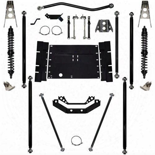 2003 Jeep Wrangler (tj) Rock Krawler 5.5 Inch Coil Over Off-road Pro Long Arm System With 12 Inch Stretch - Stage 1