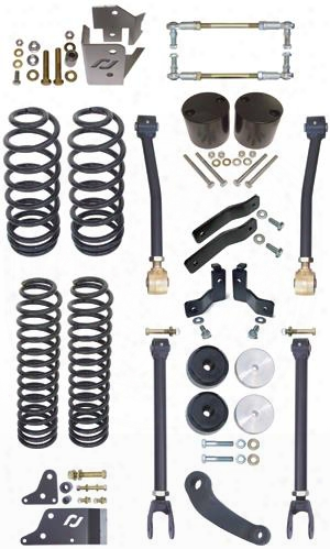 2010 Jeep Wrangler (jk) Currie 4 Inch Off Road Suspension Lift Kit