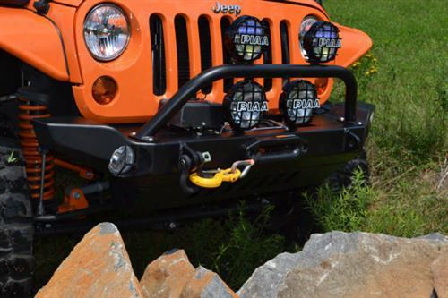 2010 Jeep Wrangler (jk) Hyline Offroad Front Recessed Winch Bumper