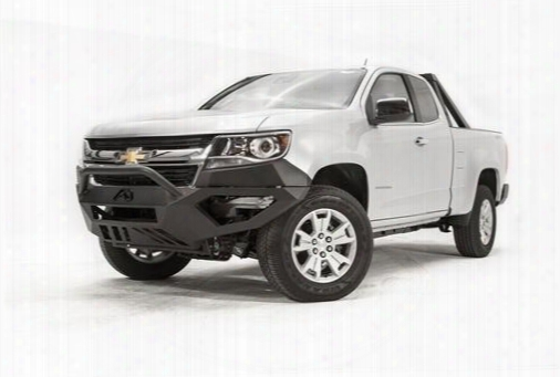 2015 Chevrolet Colorado Fab Fours Vengance Bumper With Pre-runner Grille Guard In Black Powder Coat