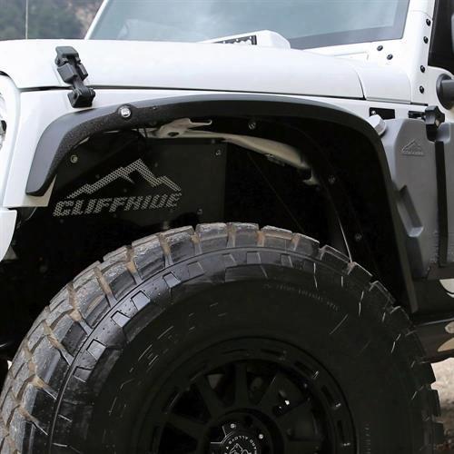 2010 Jeep Wrangler (jk) Cliffride Cliffride Crowbar Front Fenders - 19009