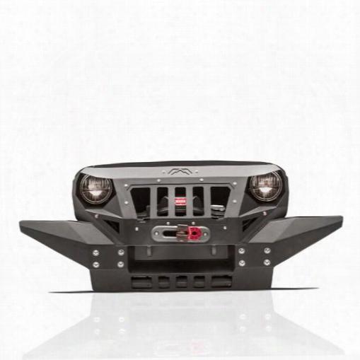 2010 Jeep Wrangler (jk) Fab Fours Front Full Width Grumper