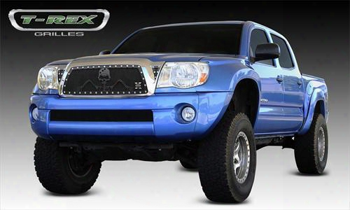 2011 Toyota Tacoma T-rex Grilles Urban Assault Grunt; Main Grille