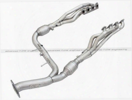 2013 Ford F-150 Afe Power Twisted Steel Long Tube Header/y-pipe