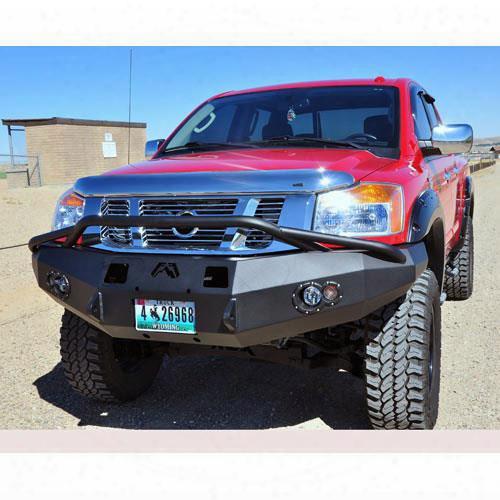 2013 Gmc Yukon Xl 2500 Fab Fours Heavy Duty Winch Bumper With Pre-runner In Black Powder Coat