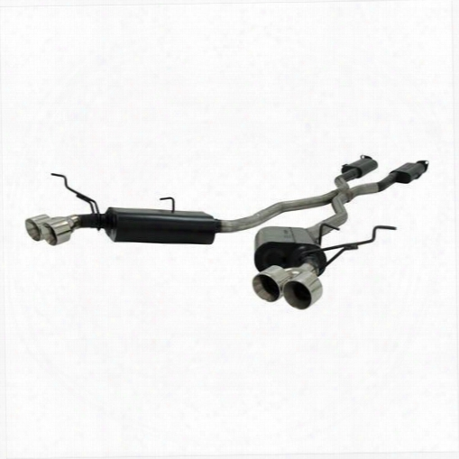 2014 Jeep Grand Cherokee (wk2) Flowmaster Exhaust Force Ii Cat Back System