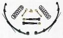 1996 JEEP CHEROKEE (XJ) Skyjacker 3 Inch Value Flex Lift Kit with Hydro Shocks