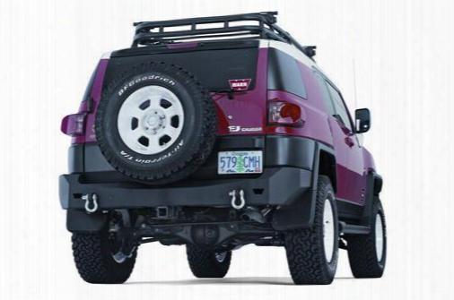 Warn Warn Off Road Winch Rear Bumper (black) - 73961 73961 Rear Bumpers
