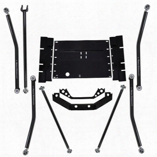 "2003 Jeep Wrangler (tj) Rock Krawler X Factor Long Arm Upgrade System With 8"" Stretch"