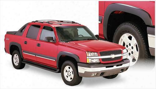2006 Chevrolet Avalanche 1500 Bushwacker Chevrolet Avalanche Oe Style Fender Flare Set