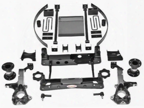 2014 Chevrolet Silverado 1500 Rancho 6 Inch Suspension Lift Kit With Steel Steering Knuckle