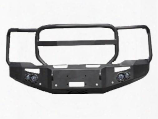 2014 Gmc Sierra 1500 Fab Fours Winch Bumper With Full Guard In Black