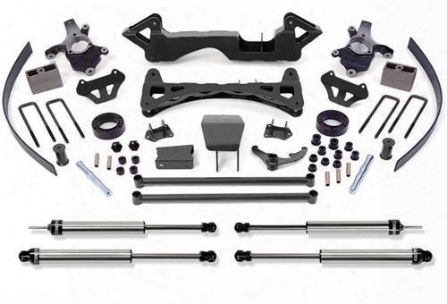 2000 Chevrolet Silverado 1500 Fabtech 6 Inch Performance Lift Kit W/dirt Logic Ss Shocks
