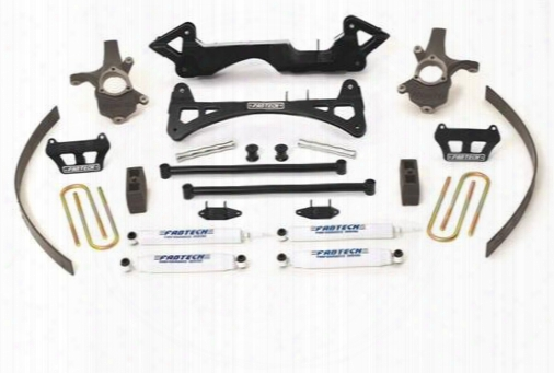 2004 Chevrolet Silverado 1500 Fabtech 7 Inch Performance Lift Kit W/stealth Shocks