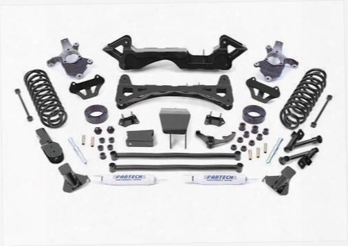 2006 Chevrolet Tahoe Fabtech 6 Inch Performance Lift Kit W/front Performance Shocks