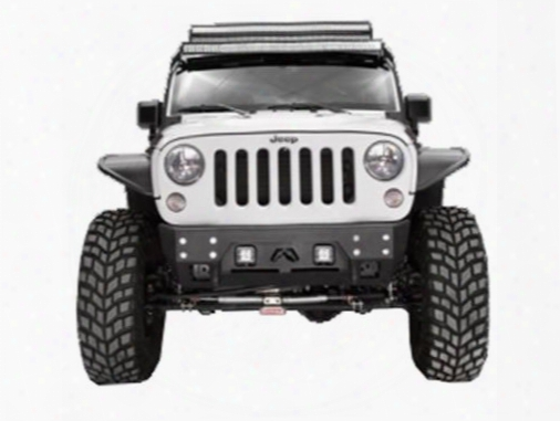 2010 Jeep Wrangler (jk) Fab Fours Full Metal Jacket Stubby Winch Bumper Without Grill Guard