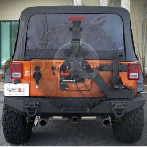 2010 Jeep Wrangler (jk) Rugged Ridge Xhd Gen Ii Tire Carrier