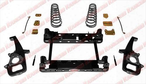 2012 Dodge 1500 Rancho Suspension Upgrade System