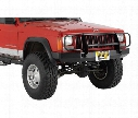 1998 JEEP CHEROKEE (XJ) Warrior Rock Crawler Front Bumper with Brush Guard and D-Ring Mounts