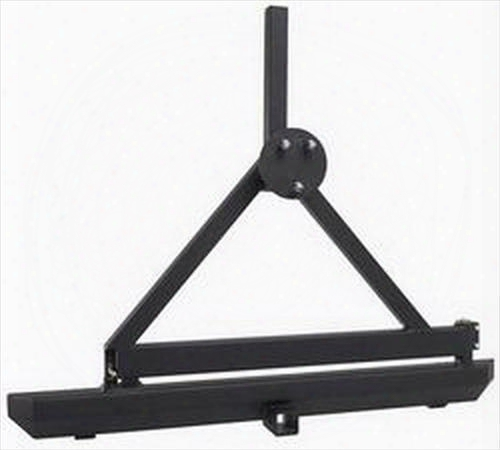 1995 Jeep Wrangler (yj) Rugged Ridge Classic Rock Crawler Rear Bumper With Tire Carrier