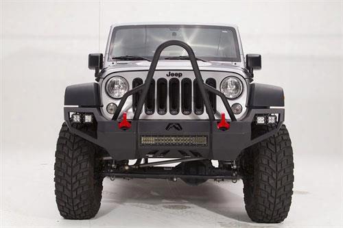 2010 Jeep Wrangler (jk) Fab Fours Vengeance Bumper With Stinger