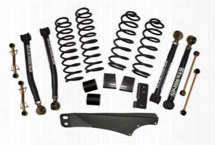 2010 Jeep Wrangler (jk) Skyjacker 2.5-3.5 Inch Value Flex Lift Kit With Hydro Shocks