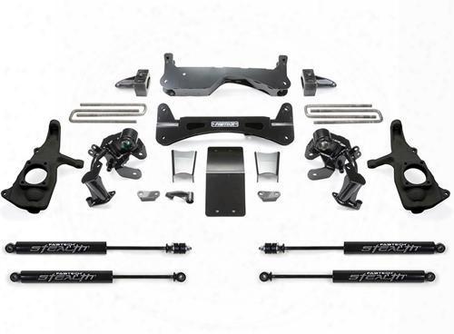 2012 Gmc Sierra 3500 Hd Fabtech 6 Inch Rts Lift Kit W/stealth Shocks