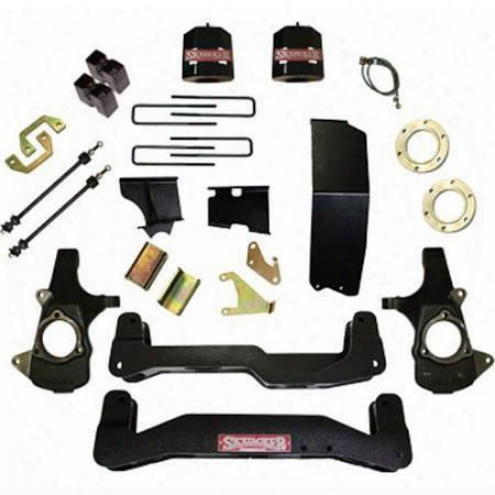 2014 Chevrolet Silverado 1500 Skyjacker 7 Inch Suspension Lift Kit W/nitro Shocks