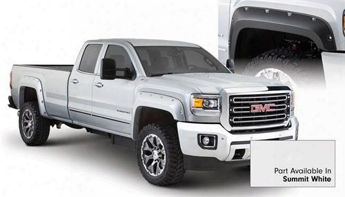 2015 Gmc Sierra 2500 Hd Bushwacker Gmc Sierra Max Coverage Fender Flare Set In Summit White