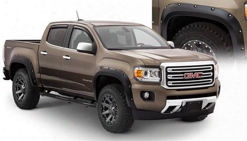 2016 Gmc Canyon Bushwacker Gmc Canyon Pocket Style Fender Flares