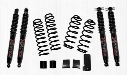 2010 JEEP WRANGLER (JK) Skyjacker 2-.2.5 Inch Softride Lift Kit with Black MAX 7000 shocks - JK200BPBSR