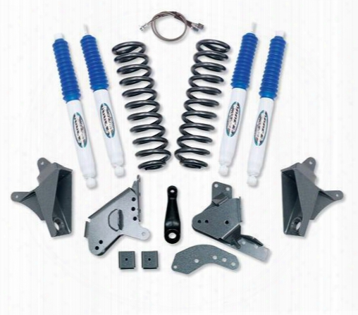 1989 Ford F-150 Pro Comp Suspension 4 Inch Stage I Lift Kit With Es3000 Shocks