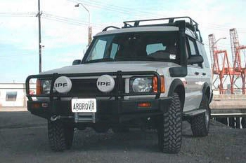 1999 Land Rover Discovery Arb 4x4 Accessories Black Land Rover Discovery Ii Deluxe Bull Bar Winch Mount Bumper