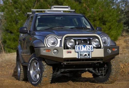 2006 Jeep Liberty Arb 4x4 Accessories Combination Bull Bar Front Bumper