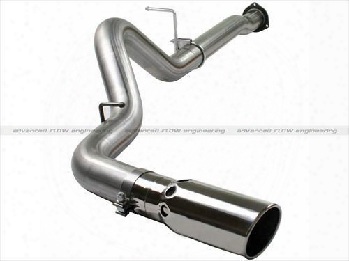 2010 Chevrolet Silverado 2500 Hd Afe Power Mach Force Xp Particulate Filter-back Exhaust System