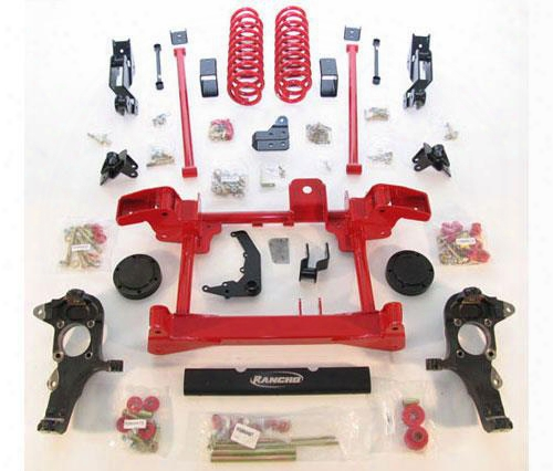 2010 Hummer H2 Rancho 4 Inch Lift Kit With Rs5000 Shocks