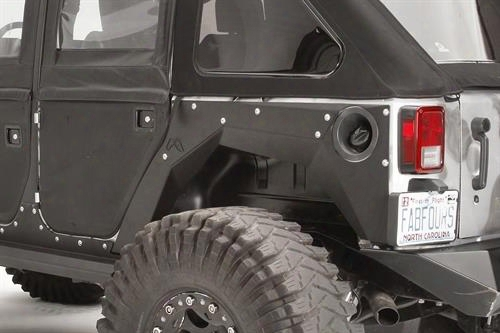 2010 Jeep Wrangler (jk) Fab Fours Rear Replacement Fenders