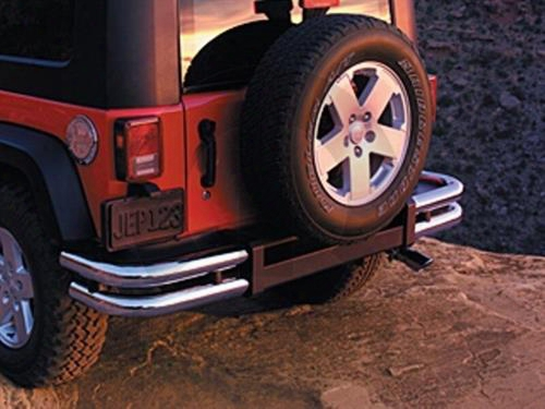 2010 Jeep Wrangler (jk) Jeep Tubular Rear Bumper