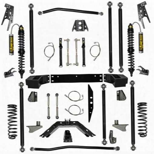 "2010 Jeep Wrangler (jk) Rock Krawler 3.5"" Stage-2 Coil Over Off-road Pro Long Arm System With 6"" Rear Stretch"