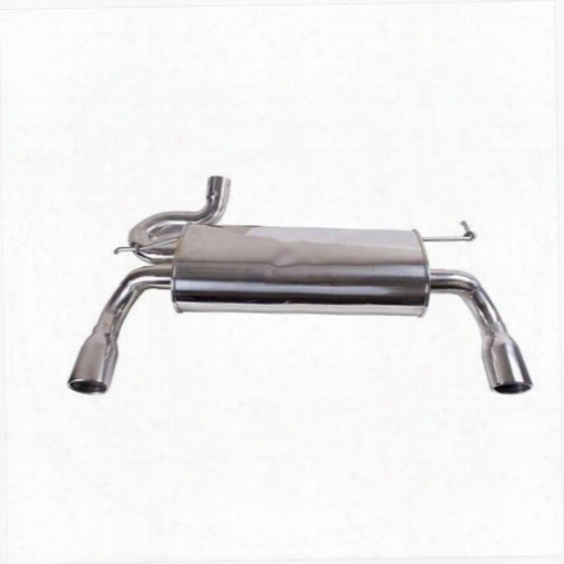 2010 Jeep Wrangler (jk) Rugged Ridge Stainless Dual Exhaust System