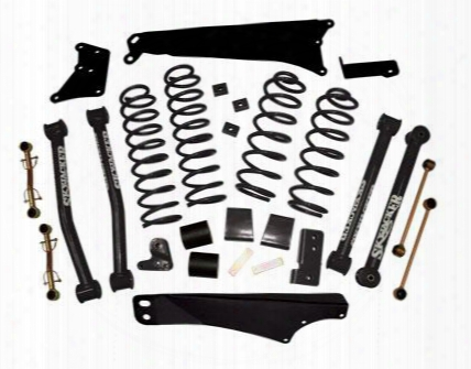 2010 Jeep Wrangler (jk) Skyjacker 4 Inch Lift Kit With Nitro Shocks
