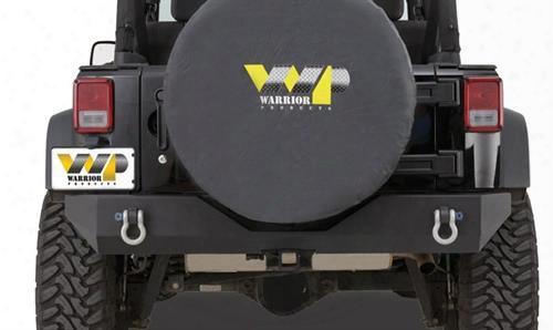 2010 Jeep Wrangler (jk) Warrior Rock Crawler Rear Bumper With D-ring Mounts In Black Powder Coat
