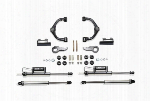 2011 Gmc Sierra 2500 Hd Fabtech 3 Inch Uniball Uca Lift Kit W/front Dirt Logic 2.25 Resi Ss Shocks & Rear Dirt Logic Shocks