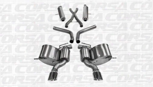 2012 Jeep Grand Cherokee (wk2) Corsa Performance Exhaust Sport Cat-back Exhaust System